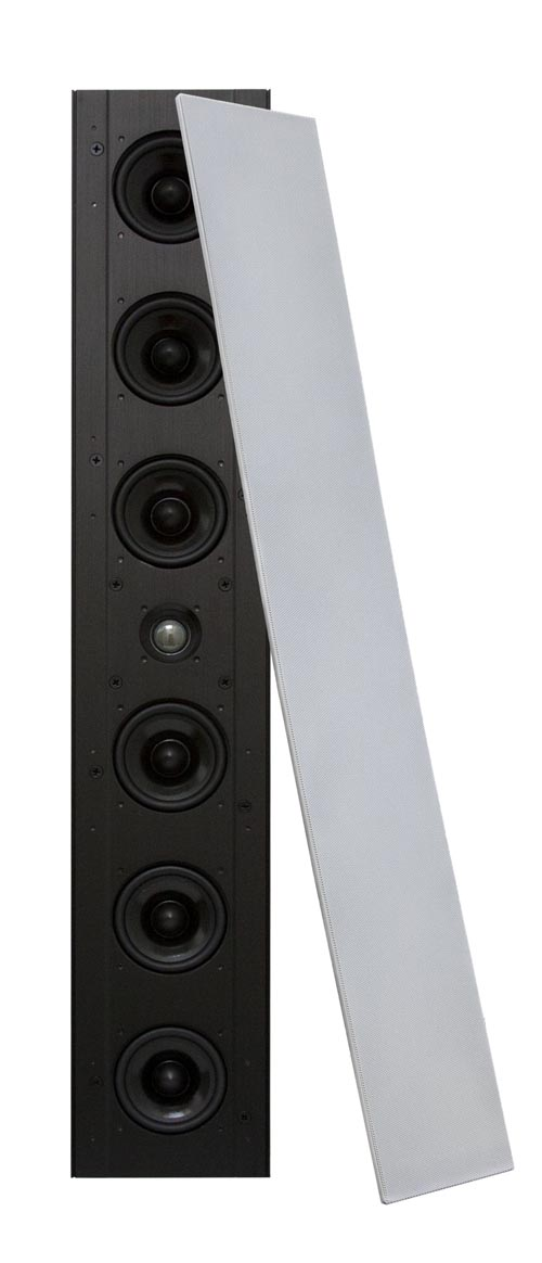 EWSLA63 Edgeless Line Array In-Wall LCR Speaker