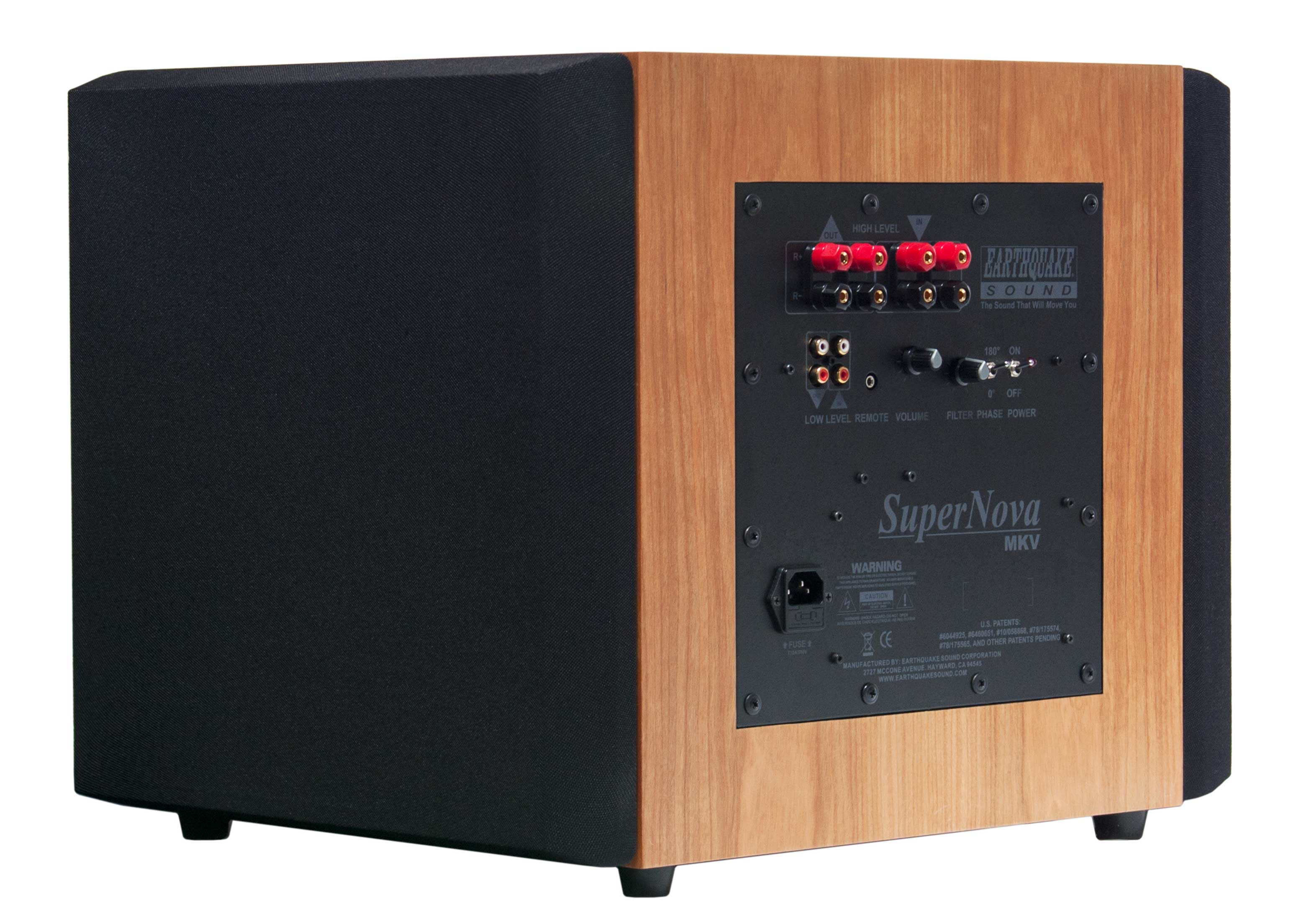 Supernova MKV-12 Veneer Cherry