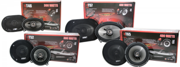 NEW TNT Line of Subwoofers & 2-Way Coaxials